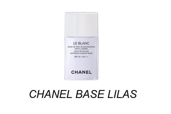 เบสชาแนลขนาดทดลอง CHANEL LE BLANC LIGHT REVEALING BASE # LILAS
