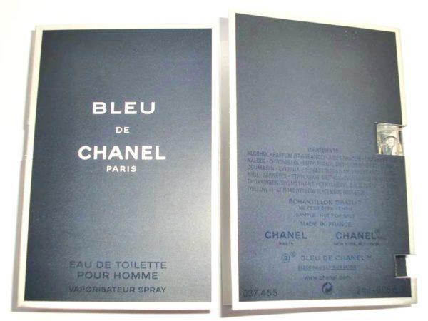 น้ำหอมผู้ชายชาแนลขนาดทดลอง BLEU DE CHANEL EAU DE PARFUM POUR HOMME