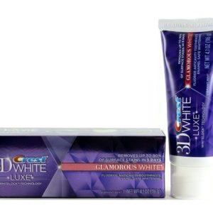 ยาสีฟันฟอกฟันขาว CREST 3D WHITE LUXE GLAMOROUS TOOTHPASTE