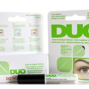 กาวติดขนตาแบบแปรงทาขนาดจริง DUO BRUSH ON STRIPLASH ADHENSIVE