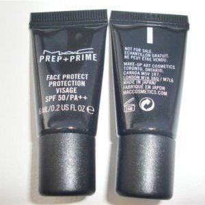 กันแดดแมคขนาดทดลอง MAC PREP-PRIME FACE PROTECT PROTECTION VISAGE SPF50