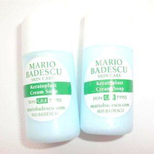 ครีมล้างหน้ามาริโอ้ขนาดทดลอง MARIO BADESCU KERATOPLAST CREAM SOAP