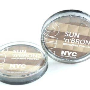 บรอนเซอร์ไล่เฉดสี NYC SUN 'N' BRONZE BRONZING POWDER