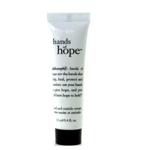 แฮนด์ครีมสูตรเด็ด PHILOSOPHY HANDS OF HOPE HAND AND CUTICLE CREAM 12 ML