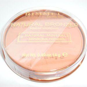 บรอนเซอร์ริมเมลแท้ถูก RIMMEL LONDON NATURAL BRONZER 022 SUN BRONZE