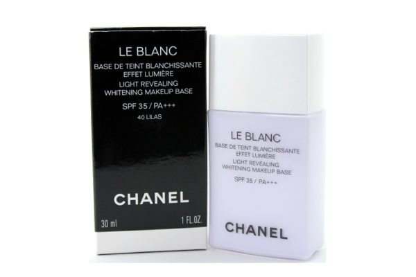 แบ่งขายเบสชาแนล CHANEL LE BLANC LIGHT REVEALING BASE # LILAS