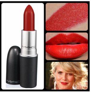 แบ่งขายลิปสติกสีแดง MAC LIPSTICK RUSSIAN RED (MATTE)