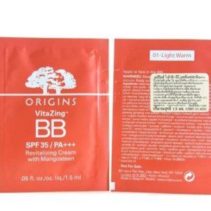 เทสเตอร์ออริจินส์บีบีครีม ORIGINS VITAZING BB SPF 35 REVITALIZING CREAM