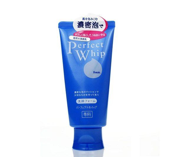 โฟมล้างหน้าชิเซโด้วิปโฟม SHISEIDO PERFECT WHIP FOAM 120G