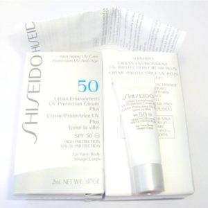กันแดดชิเซโด้ขนาดทดลอง SHISEIDO ANTI-AGING UV CARE CREAM PLUS SPF50